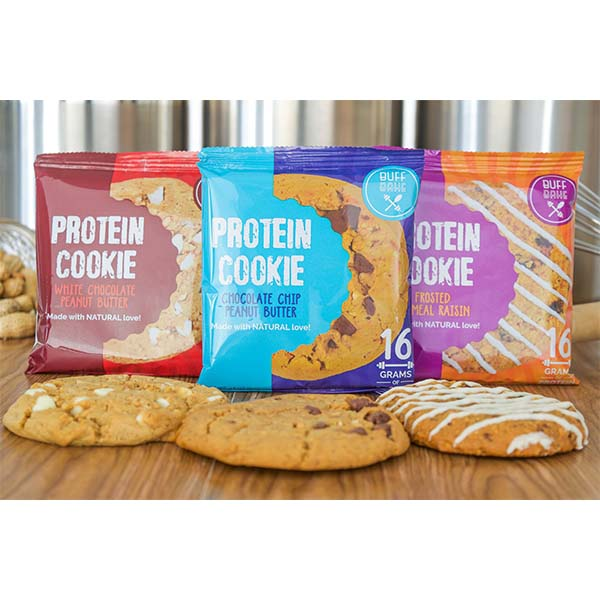 Buff Bake Protein Cookie With Gluten Free Options Fighters Warehouse